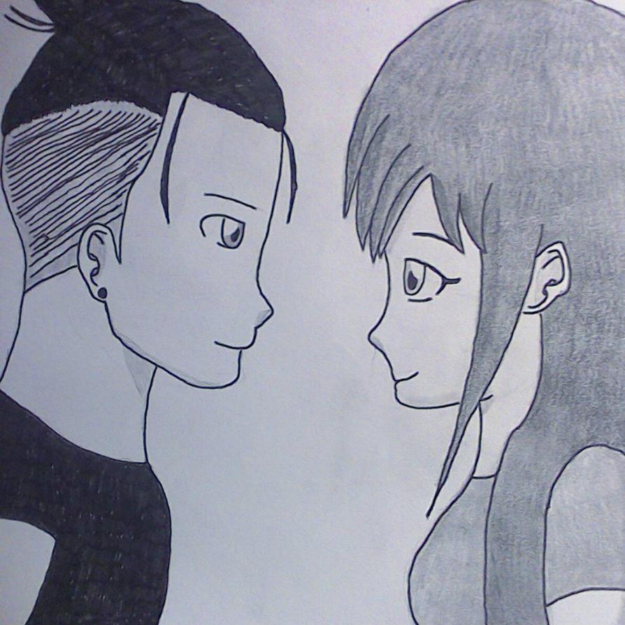 Anime Portrait #7  by LilTJ96015