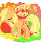 Apple Jack by lokkyta