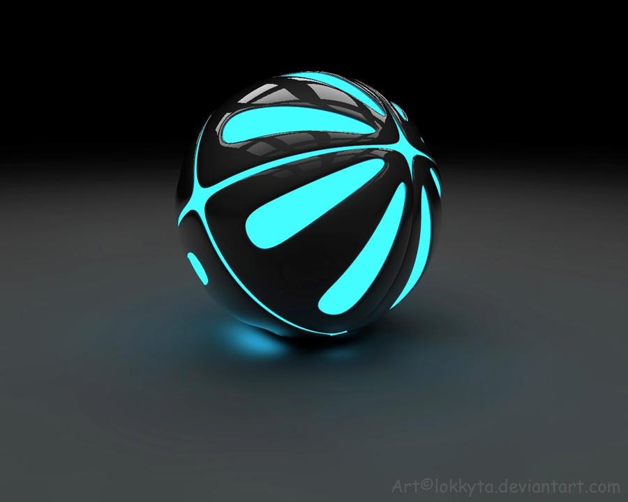 Light Pokeball by lokkyta