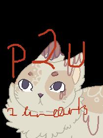 P2U feline lineart set by ChezuAdoptables