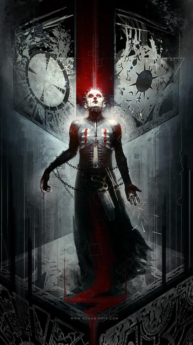 "Horror Movie Art : ""Hellraiser"" Series, by AnnaGabrie ...  Hellraiser Deviantart"