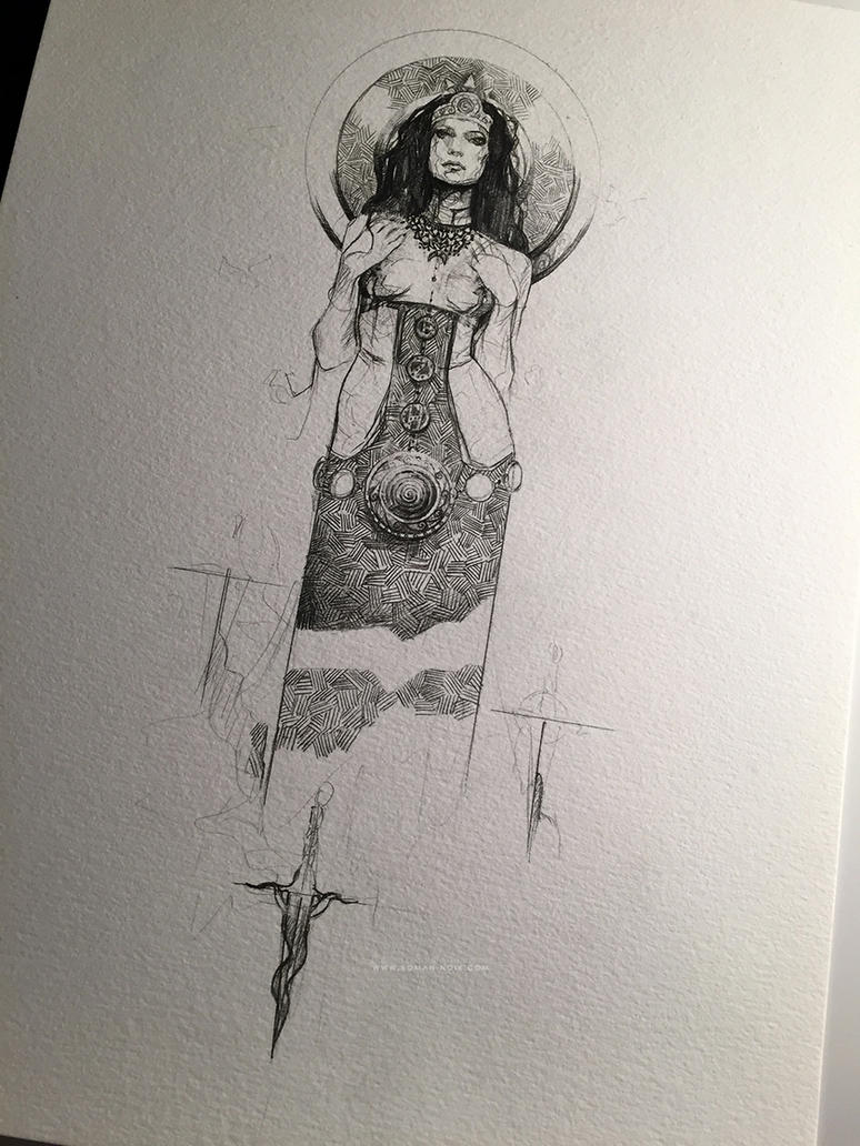 THE SISTER (Morgane) by Deharme