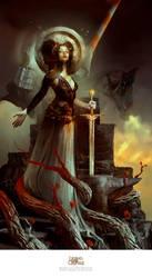 Queen of Misfortune by Deharme