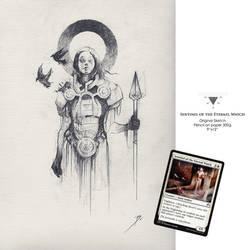 Original Sketch / Sentinel of the Eternal Watch