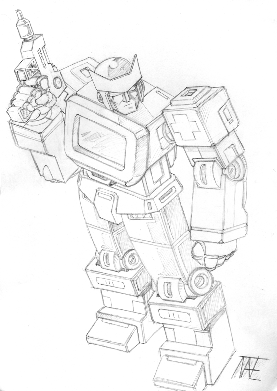G1 ratchet by natephoenix on deviantart for Ratchet coloring pages