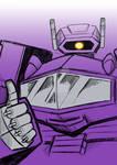 Commission:  Transformers G1 Shockwave