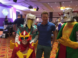 Death's Head cosplay at TFnation 3 by Natephoenix