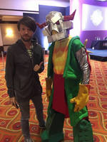 Death's Head cosplay at TFnation 4 by Natephoenix