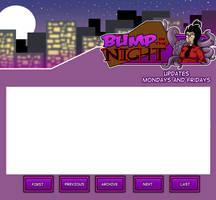 Website Layout Sketch - Bump In The Night