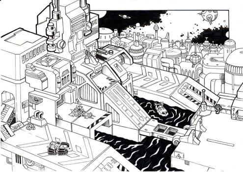 Fortress Maximus City-Mode