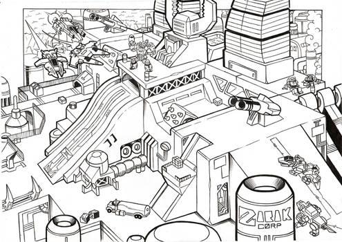 Scorponok City-Mode