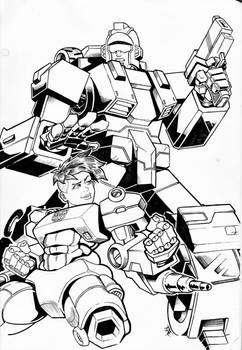 Commission: Stakeout and Verity Carlo