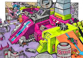 Scorponok City-Mode - TFNation 2020 print
