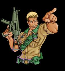 Commission: G.I. Joe Duke
