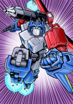 Transformers Masterforce God Ginrai COLOURED