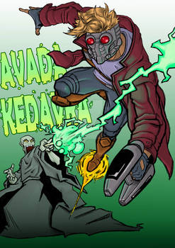 Commission: Starlord vs Lord Voldemort