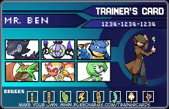My Trainer Card by mlsterben