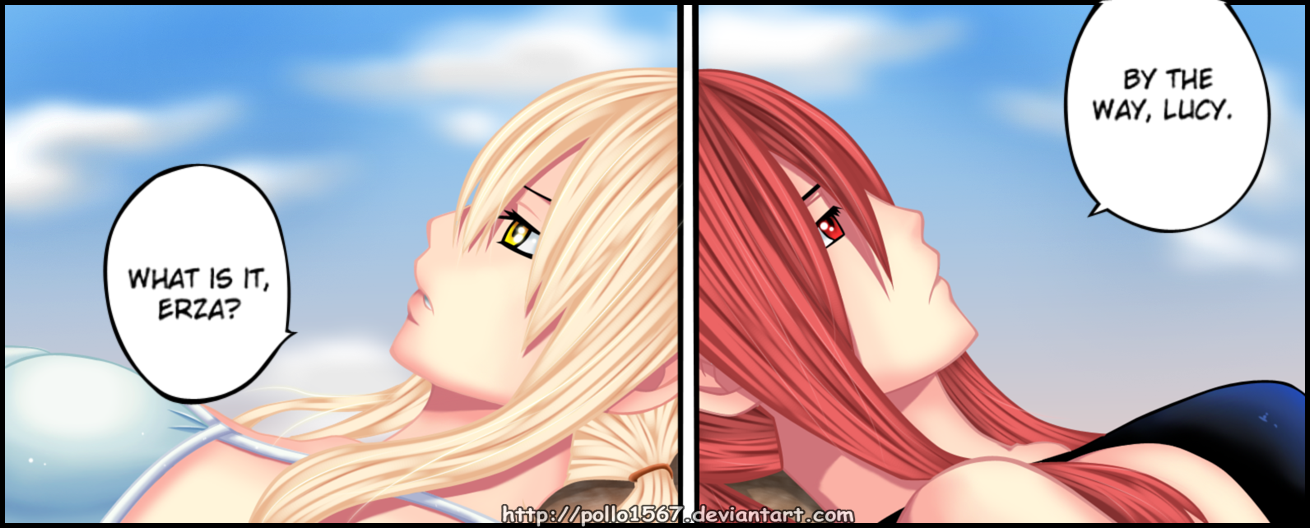 lucy and erza FT manga 298 by pollo1567 on DeviantArt