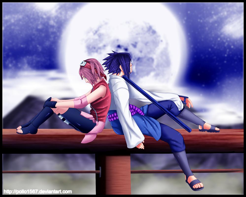 sasuke protects sakura wallpaper - photo #36