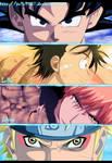 Goku Luffy Ichigo Y Naruto