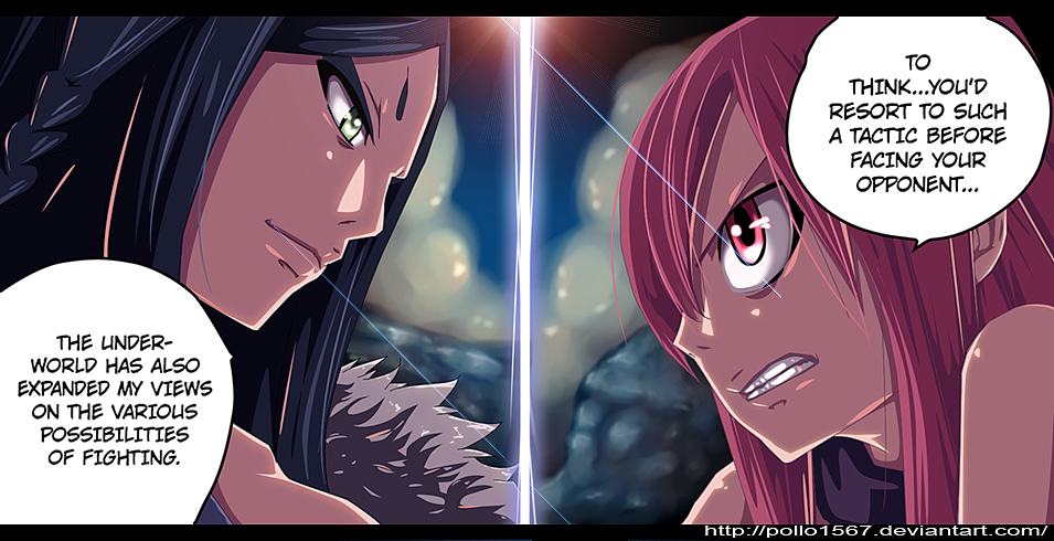 deviantART: More Like Ft-346 minerva vs erza by pollo1567