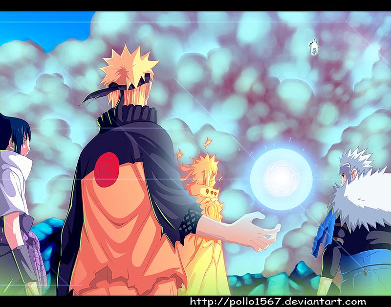 Naruto - 642 senjutsu attack by pollo1567