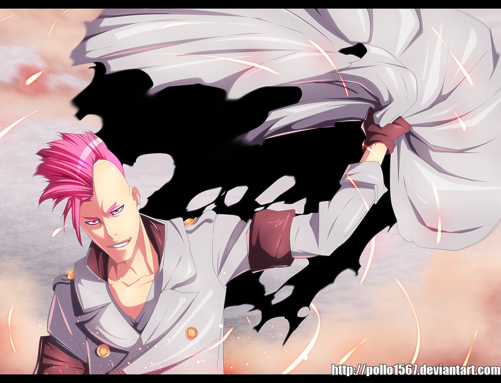 Bleach 550 - Bazz b by pollo1567
