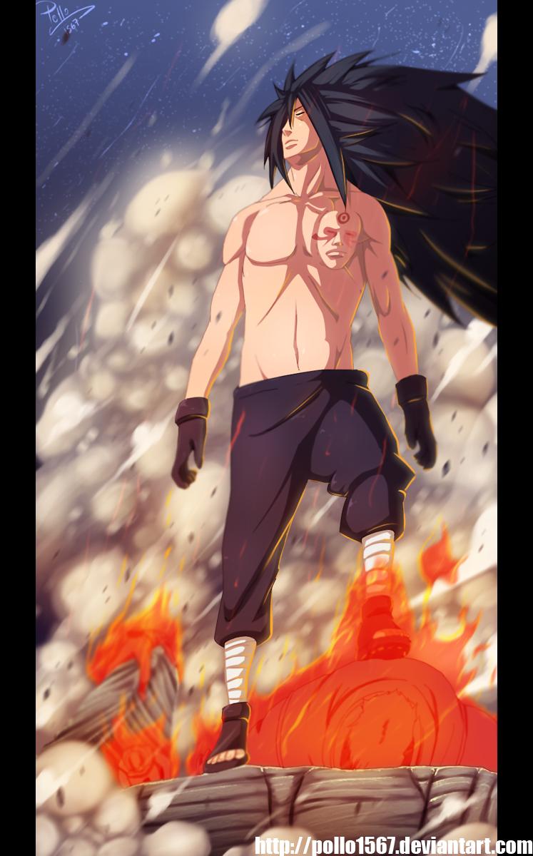 Naruto 657 - Madara by pollo1567