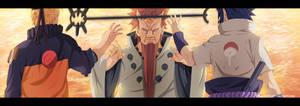 Naruto 671 - Naruto y Sasuke