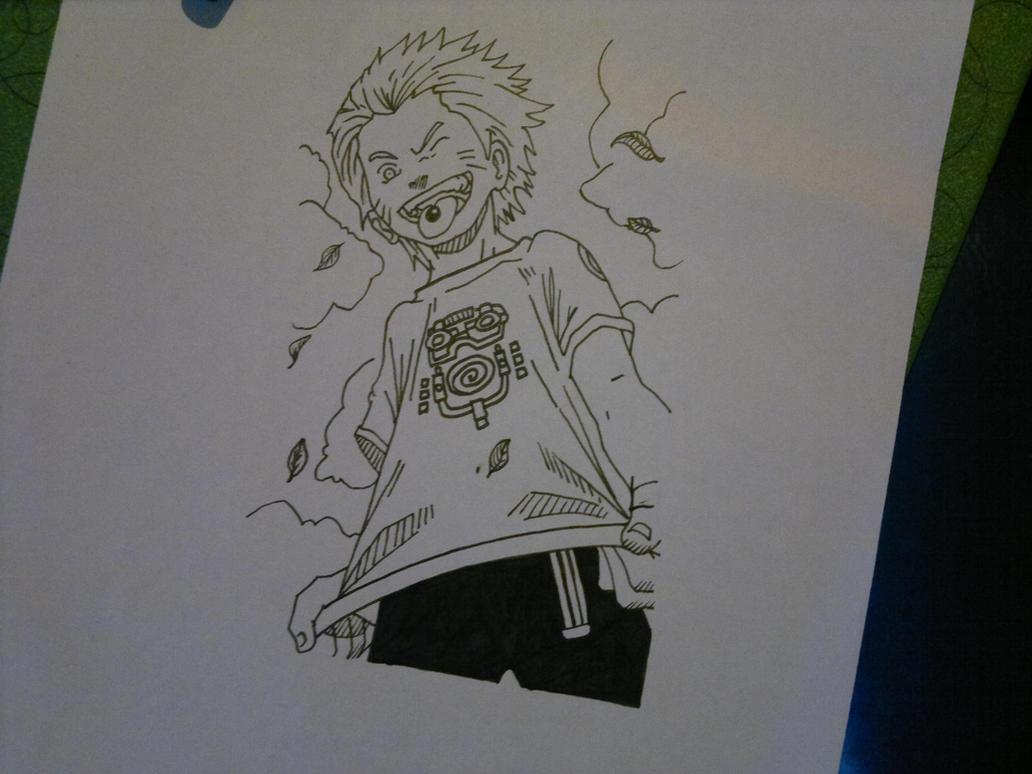 Dibujo naruto by pollo1567