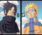 Naruto Vs Sasuke by pollo1567