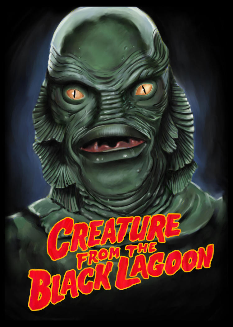 Creature From The Black Lagoon by Rocket57 on DeviantArt