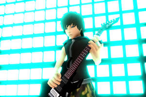 Guitarist Cabel: by Smirkaotic