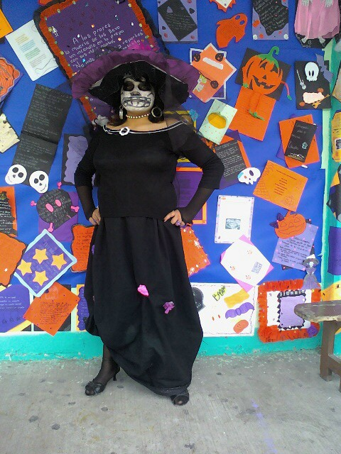 disfraz de catrina by JokerAngewomon