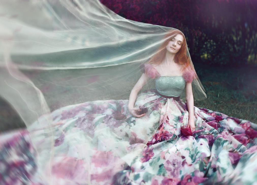 Redhead Princess by BAGIRA-blue