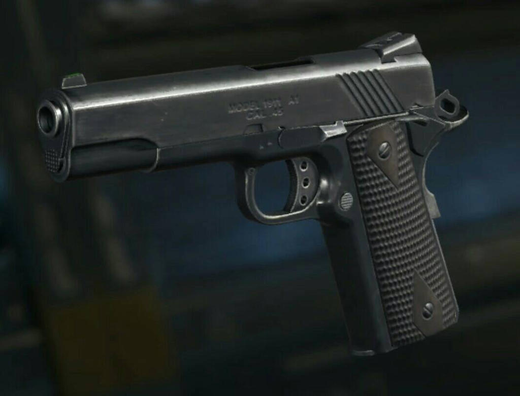 m1911 in black ops 3 by karma45 on deviantart