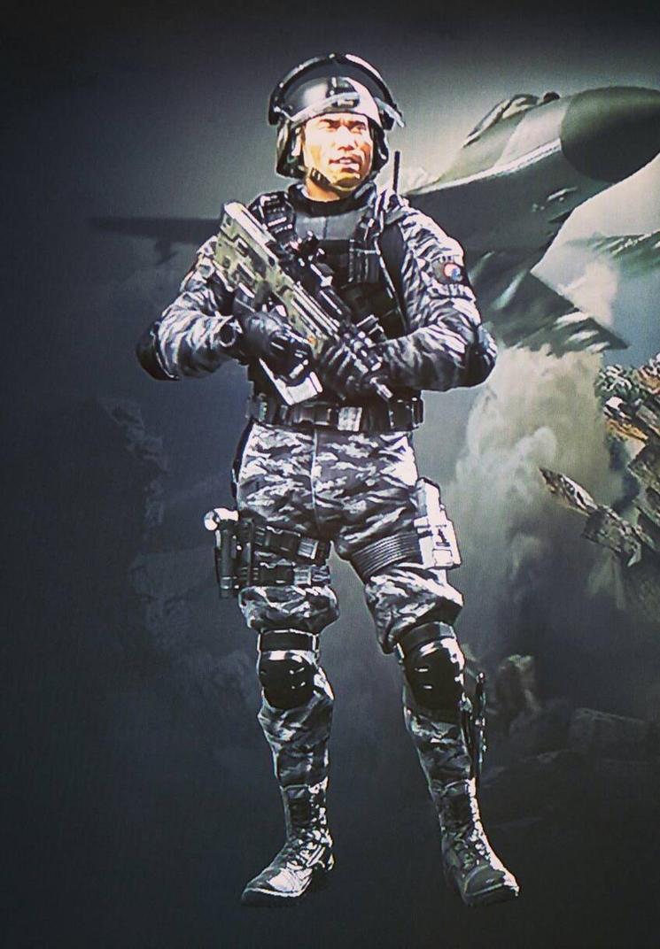 Federation Soldier (COD Ghost)  by Karma45