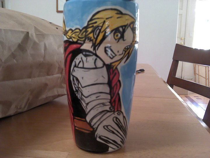 Ed Elric Ceramic Coffee Mug by LegendofFullmetal
