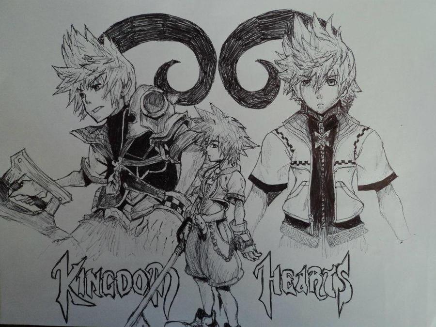 One Heart, Three Parts by LegendofFullmetal