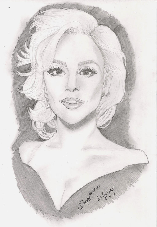 Lady Gaga by L4154