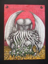 Hybrid Cthulhu by illaetabilisart