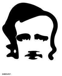 Edgar Allan Poe - Black Cat and Raiven by sheenayz
