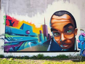 Big Green Eyes by iWareWolf
