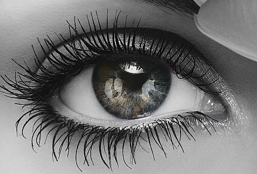 Black And White Images Eyes