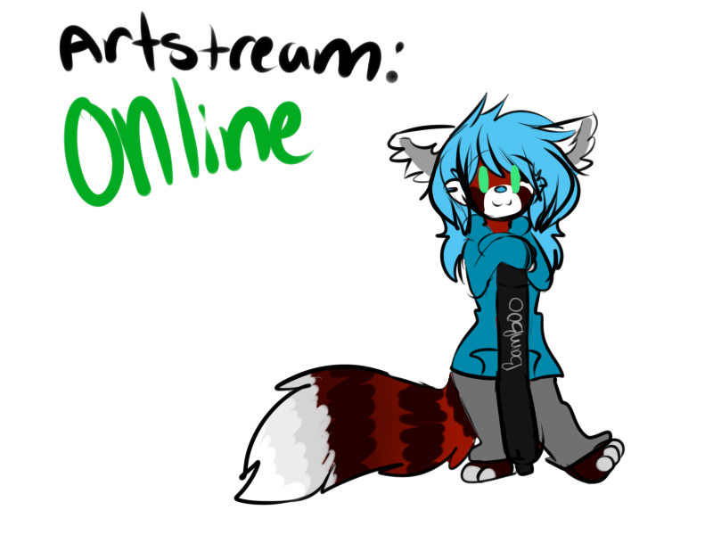 Stream status ONLINE by lonely-galaxies