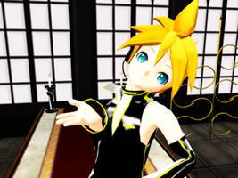 MMD Project Diva Len by ayoriki
