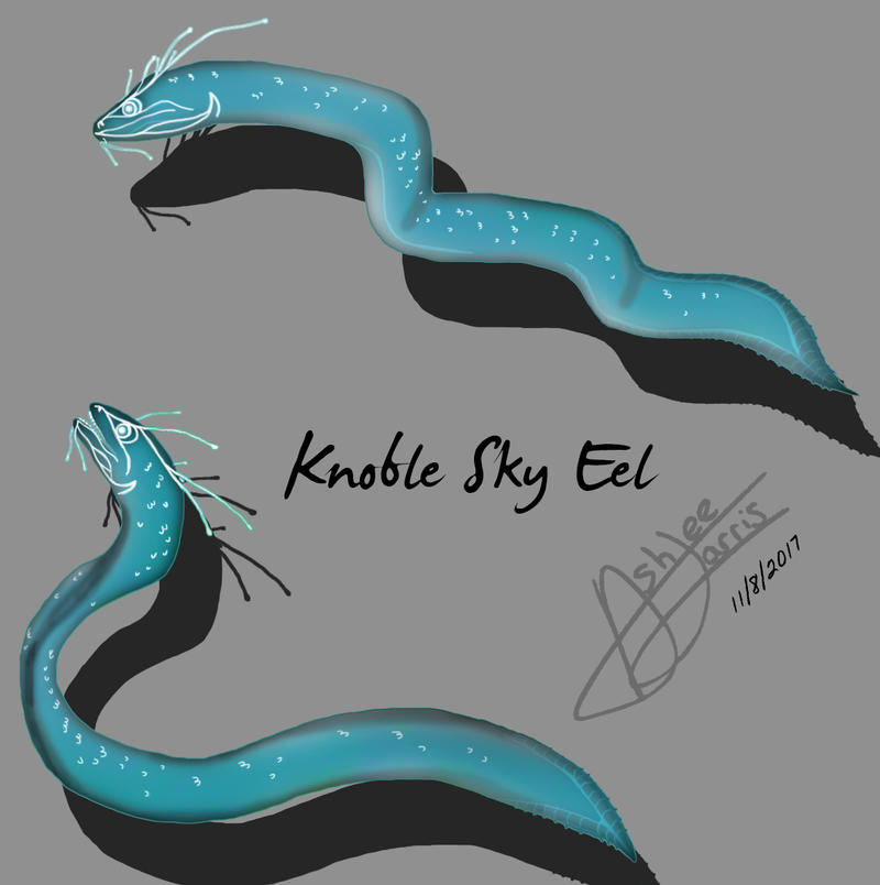 The Knoble Sky Eel by CookieOfPower
