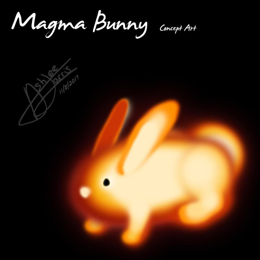 Magma Bunny by CookieOfPower