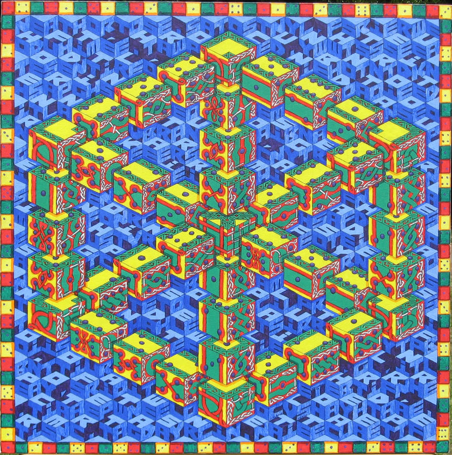 Dice Illusion by herbevore