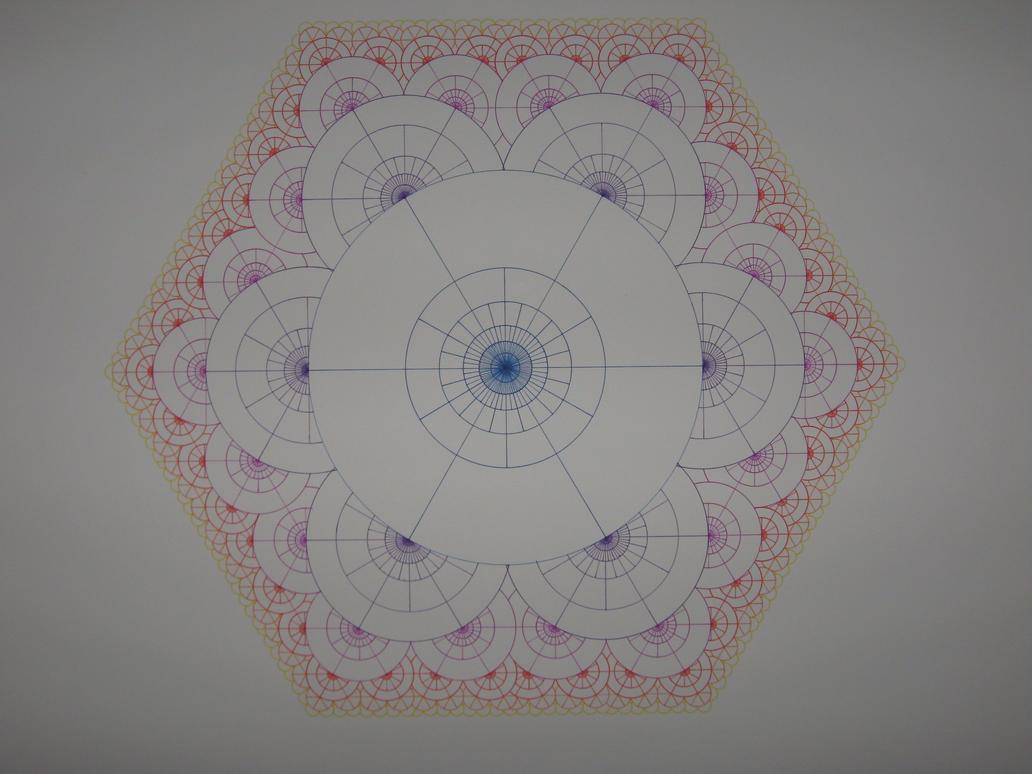 fractal flowers by herbevore